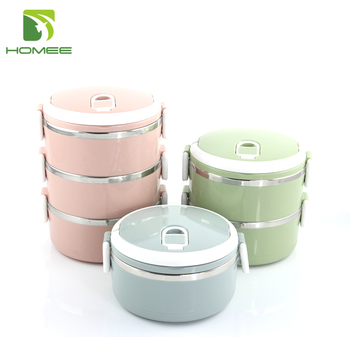 Homeee stainless steel thermos lunch box food storage container  sc 1 st  Alibaba & Homeee Stainless Steel Thermos Lunch Box Food Storage Container ...