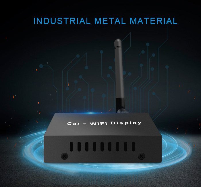 Venta Wireless Mira caja de enlace espejo apoyo IOS y Android Teléfono con WIFI