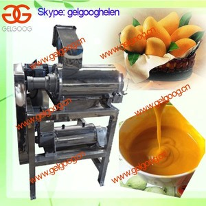 Stainless Steel Mango/peach/apricot/plum Pulping Machine|Mango Pulping Machine