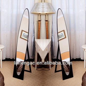 Caliente Venta De Madera Moda Decorativa Grande Barato Espejos Sin