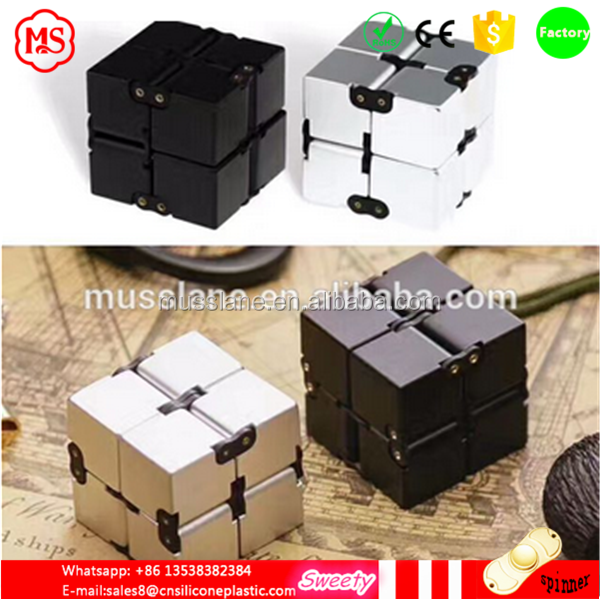 In Stock Hot Selling Toy Relieves Stress Anxiety fidget cube and folding cube toy for Adults Children