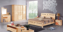 Wooden Home Bed Home Furniture General Use