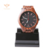 luxury wood watch men mechanical zebra automatic digital wood watch dropshipping