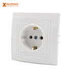 China factory european style abs panel safety oem schuko socket 12 year warranty 82*82mm 16a 220v power z wave socket