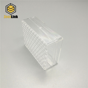 50g Plastic clear comb honey container/box/cassette