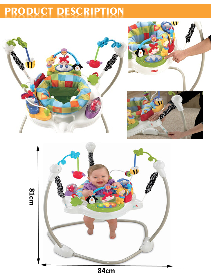 Colorful Deluxe Imitation Muntifunction Baby Bouncer Chair Buy