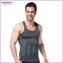 Gray Shirt Wholesale Slim Top Tight Belly Big Men Body Shaper