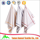 promotional wash towel cotton yarn dyed woven kitchen towel