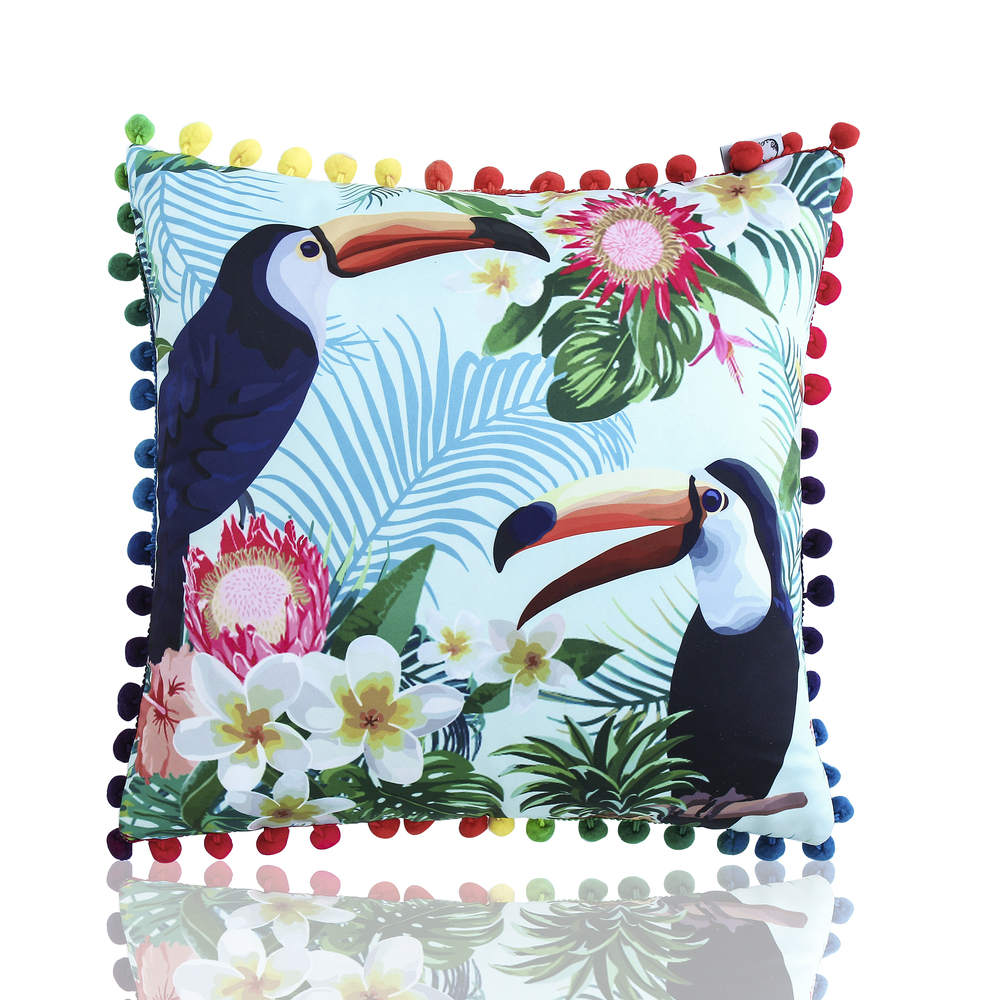 WL1059 2018 Popular cushion newest printed design to wholesale price to custom cushion cover