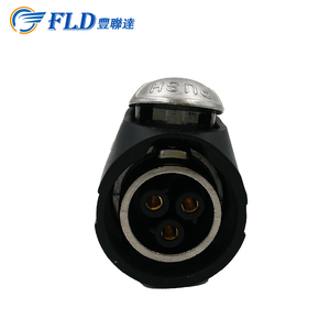 250V IP 3 Pins Power female socket /cheap waterproof power plug