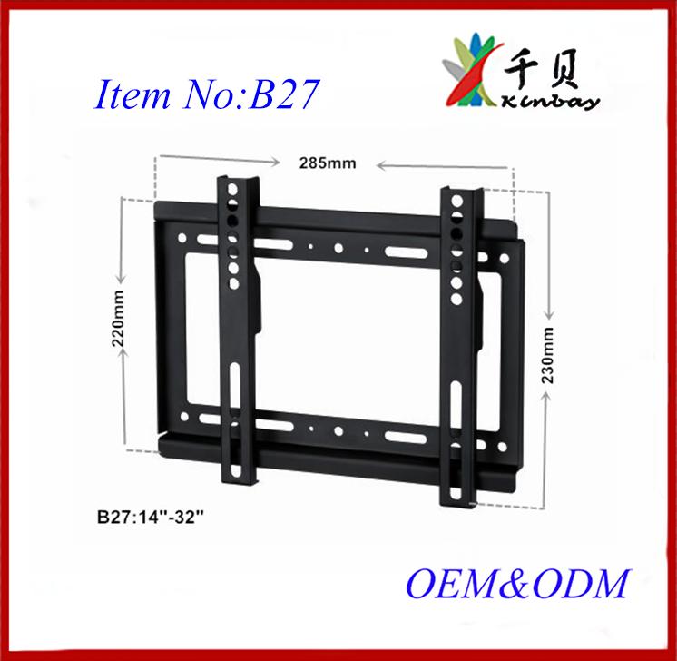 Piccola tv montaggio a parete staffa tv stand con mensola per 26 55 schermi piatti tv led lcd - Montaggio tv a parete ...