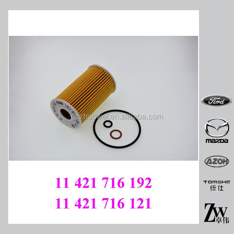 For BMW E36 318i E36.7 Z3 Set of 4 Oil Filter Kit HENGST 11 42 1 716 192