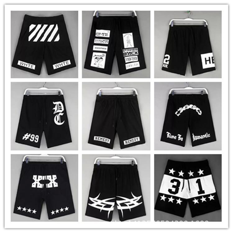 Hba принт лето стиль свободного покроя шорты бренд Harajuku панк хип-хоп мужчины улица ткань баскетбол багги короткая битник