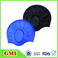 Swimming cap for long hair,Waterproof silicone swim cap keep hair dry