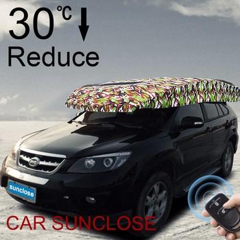 Sunclose Factory Safe Structure Head Umbrella Car Seat Covers