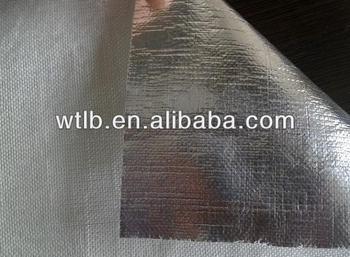 Aluminium foil fire retardant fiberglass membrane buy for Fiberglass insulation fire resistance