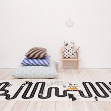 1pcs baby racing games adventure child room decoration play mats for girls and boys