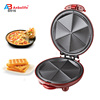 Anbo mobile commercial pizza maker and outdoor portable electric pizza pan cooker maker waffle maker