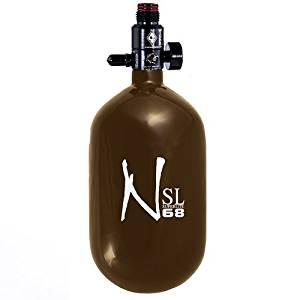 Ninja Carbon Fiber HPA Tank - SUPERLIGHT / SL - 68/4500 - Brown