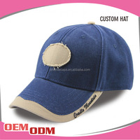 Custom 6 Panel Cotton Twill Solar Cap Promotional Blank Baseball Cap Factory