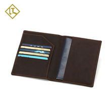 New Fashion High Quality Genuine RFID Blocking Leather Passport Holder Wallet Cover Case