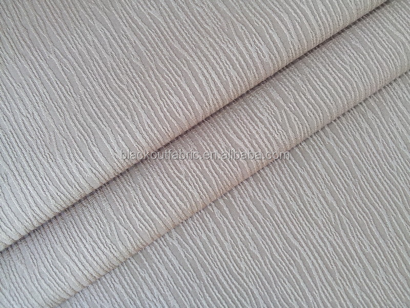 3 Pass Coated Blackout Curtain Fabric for FR Contract