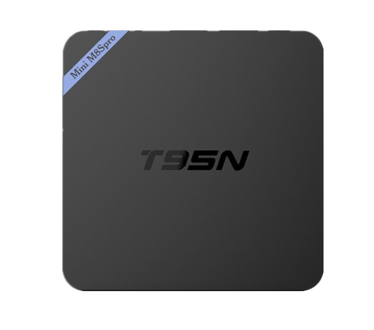 Alta calidad android 6,0 OS T95N Mini m8s pro tv box Quad núcleo Amlogic S905X Ram 2G/8G Kd 16,0 TV box T95N