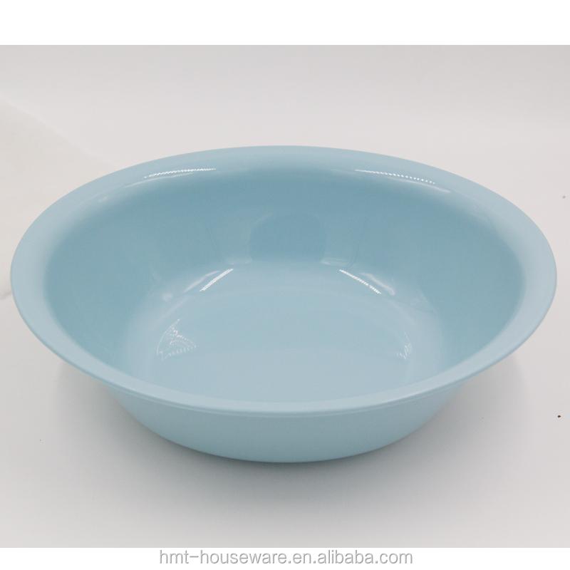 Large round plastic wash basin garden rooms