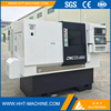 Small Servo Motor Linear Guidway Slant Bed CNC Lathe Machine TCK42LS