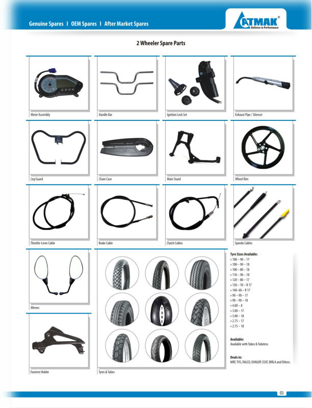 Bajaj Two Wheeler & Three Wheeler Spare Parts In Uganda - Buy ...