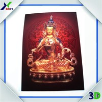 3d god india wall picture