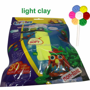 sensory educational toys air clay handmade self-hardening modeling clay light weight kids toys children clay