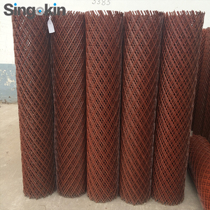 PVC Coated stainless steel Expanded Metal Mesh of Door Mesh