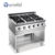 Commercial Restaurant Stainless Steel Indoor Gas 4 Stove Burners