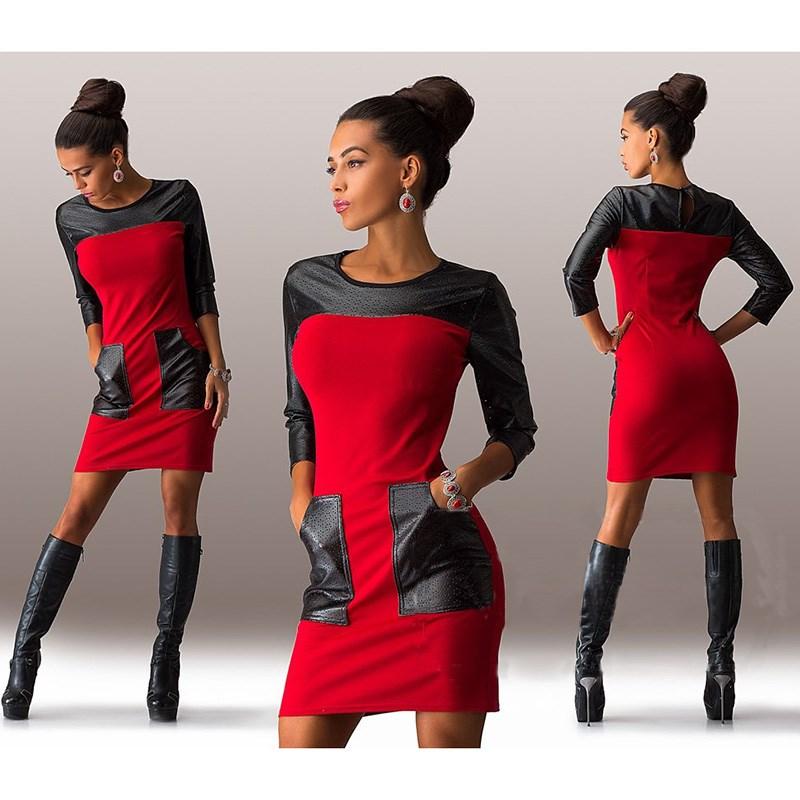 aa0a23ab849 Купить Цвет Блока Платье оптом из Китая