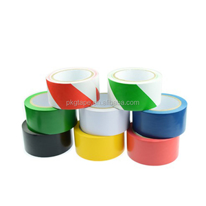 Pressure Sensitive Adhesive Type and Single Sided Adhesive Side PVC floor marking tape in China