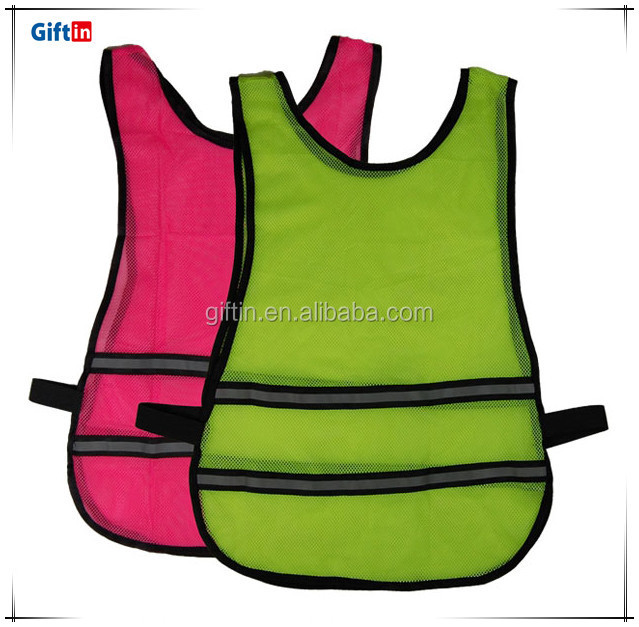 Best Selling High Quality Reflective polyester satin Vest