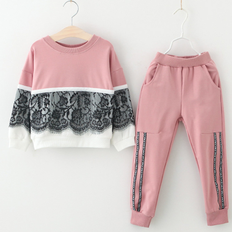 Children Clothing Autumn Winter Girls Clothes 2pcs Set Christmas Kids Clothes Toddler Suit for Girls Clothing Sets