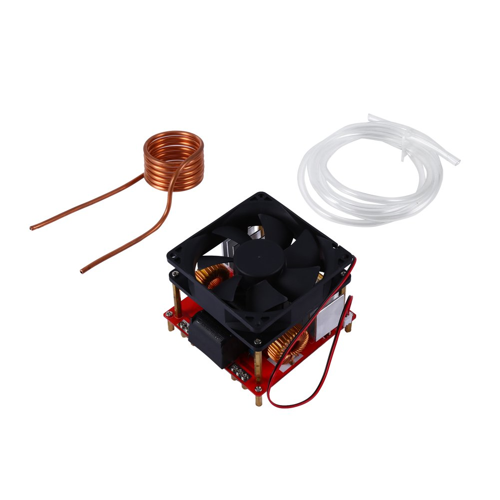 Cheap High Voltage Induction Find Deals On Simple Heater Circuit Hot Plate Cooker Get Quotations 500w Zvs Low Heating Board Module With Tesla Coil Dc 24v 36v