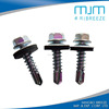 indented hex washer head self-drilling screw roofing screw