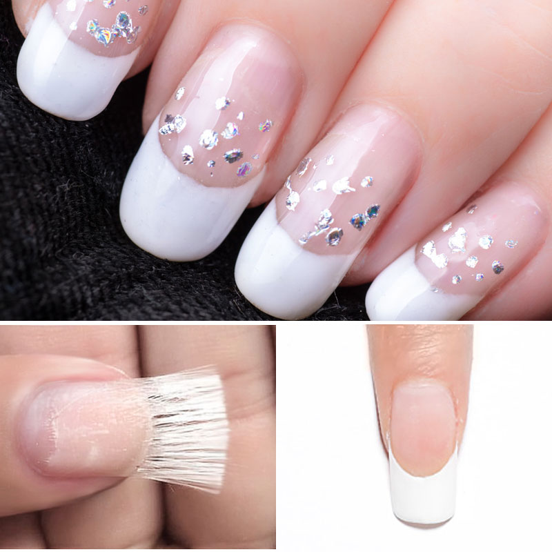 Mixcoco Fiberglass Use With Builder Gel Extend Nails Fiberglass
