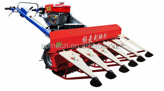 China supplier rice & wheat harvester / rice combine harvester equipmeng in agriculture