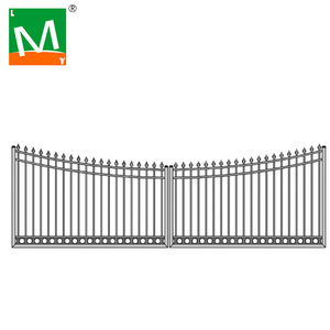 Assembled Ornamental Aluminum Fencing post and rail Like PVC Fence White Fencings