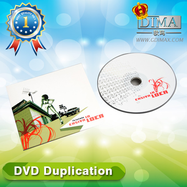movies dvd by dvd replication with cardboard case insert