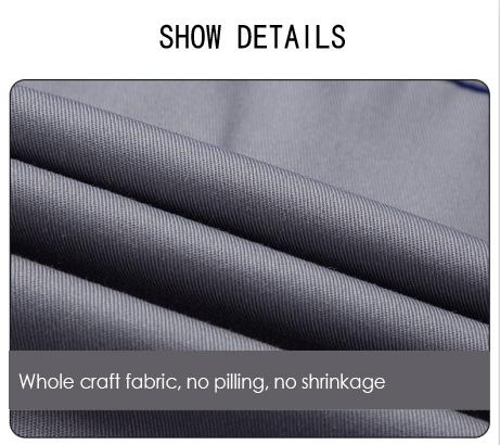 Timmerman werk pak custom denim overalls custom made uniform vlam resistente werkkleding