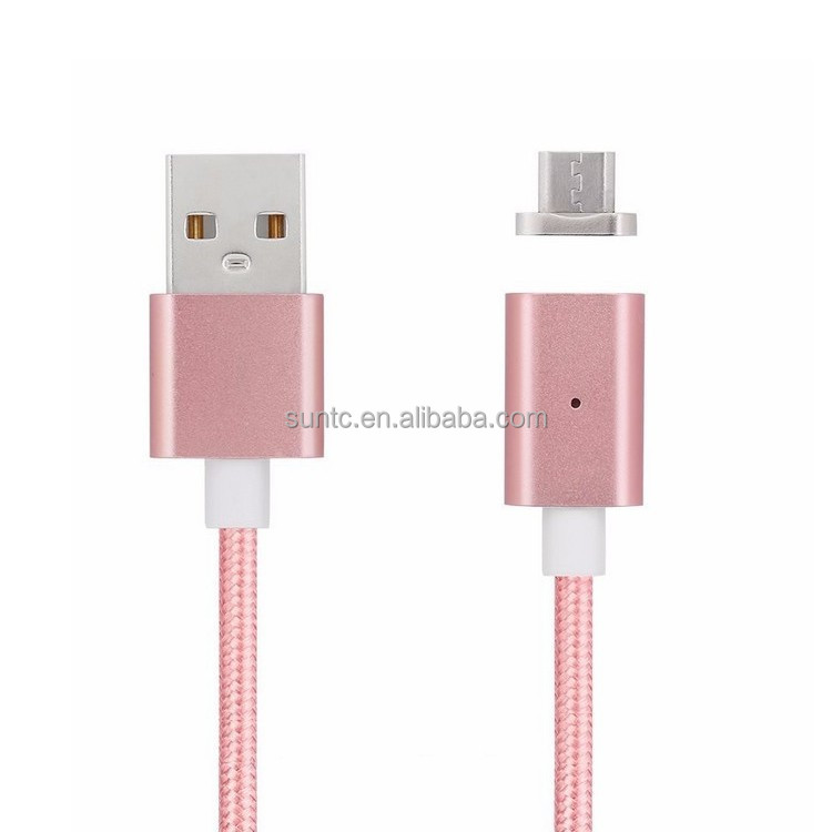 Wholesale Customized 3 in 1 Flat Fast USB Data Charging Magnetic USB Cable for Smartphone
