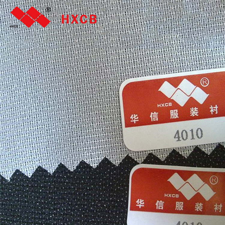 100%Polyester Fusible Adhesive woven Interlining&Lining Fabric