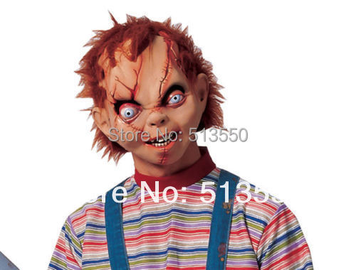Realistic Coloring Of Chucky: Aliexpress.com : Buy Chucky Character Mask For Costume