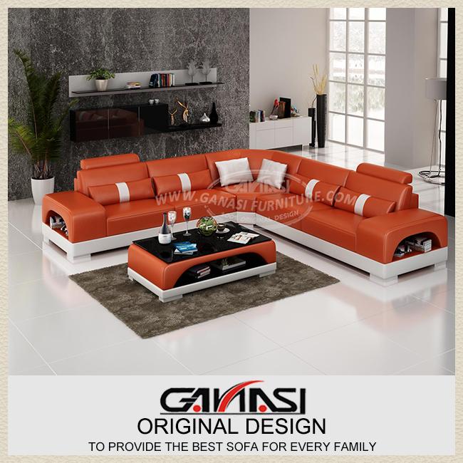 2016 Latest Corner Sofa Set,Ganasi New Set Design Sofa - Buy 2016 ...