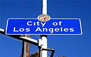 City-of-Los-Angeles-Downtown-Sign USA Hawaii Las Vegas Los Angeles new york San Francisco Postcard Post card